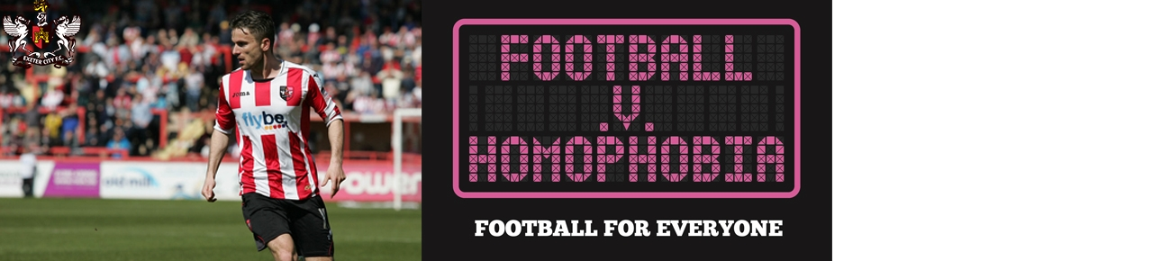 Exeter City v Homophobia (..and Stevenage)